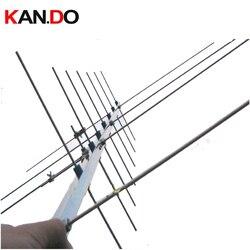 Antena uv 430-440 143-146 mhz 15dbi do ganho do rádio do repetidor amador em dois sentidos antena do presunto da antena do satélite do rádio amador
