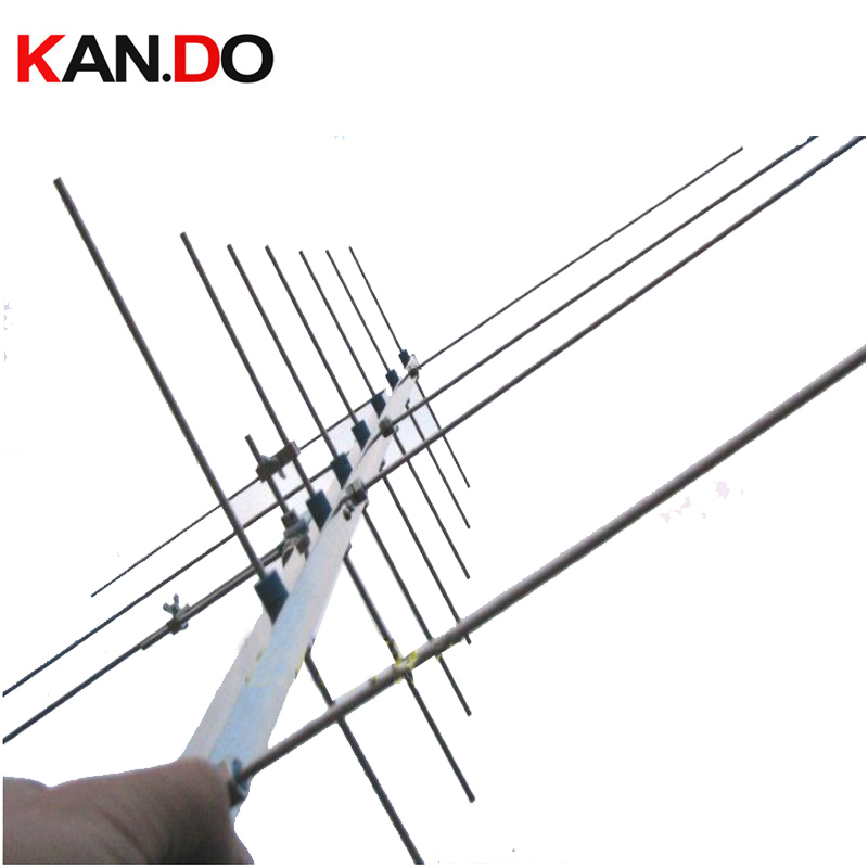 Amateur Radio Satellite Antenna HAM Antenna UV Yagi Antenna 430-440 143-146MHZ 15dbi Amateur Repeater Two Way Radio Gain Antenna
