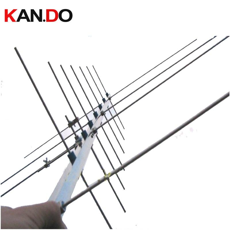 Amateur Radio Satellite Antenna HAM Antenna UV Yagi Antenna 430-440 143-146MHZ 15dbi Amateur Repeater Two Way Radio Gain Antenna