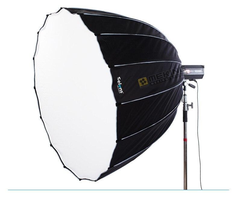 Selens 90 cm 120 cm 150 cm 190 cm boîte souple Hexadecagon parapluie flash studio diffuseur Softbox pour montage Bowens avec sac de transport