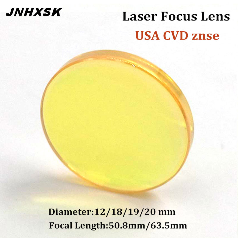 1 Pic Focus Lens 18mm FL 50.8 Mm For Laser Engraving Cutting Machine Laser Cutter Engaver USA Quality