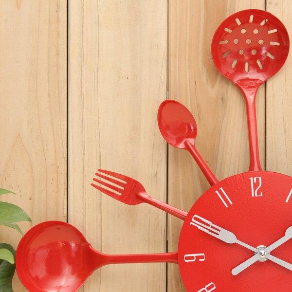 Charminer 2017 Fashion Style Metal Kitchen Cutlery Utensil Wall ...