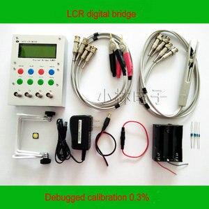 Image 4 - XJW01 LCR ponte digitale tester ESR Kit