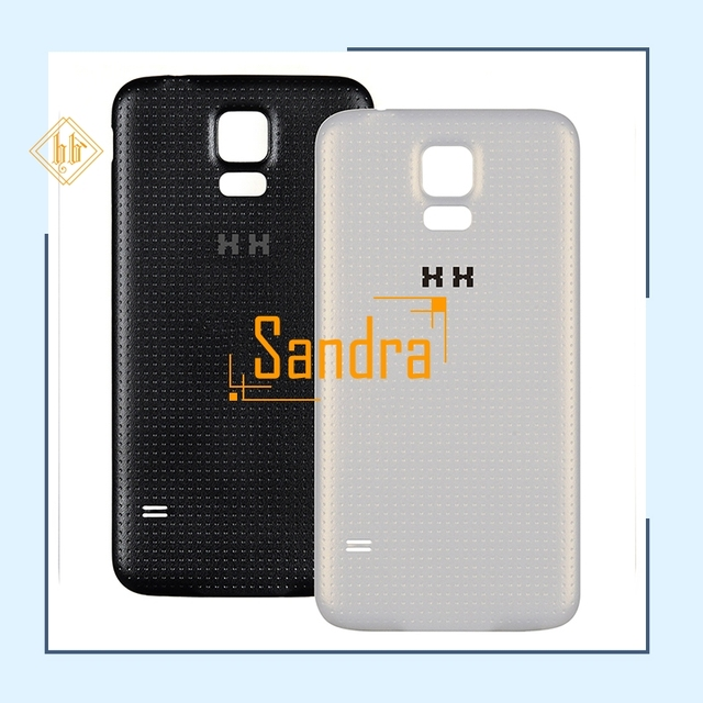 buy popular 3fb10 0a5f3 US $4.98 |New brand 1PCS white black G900 Housing Battery Door Back Cover  HH For Samsung Galaxy S5 i9600 G900F Rear Cover-in Mobile Phone Housings ...