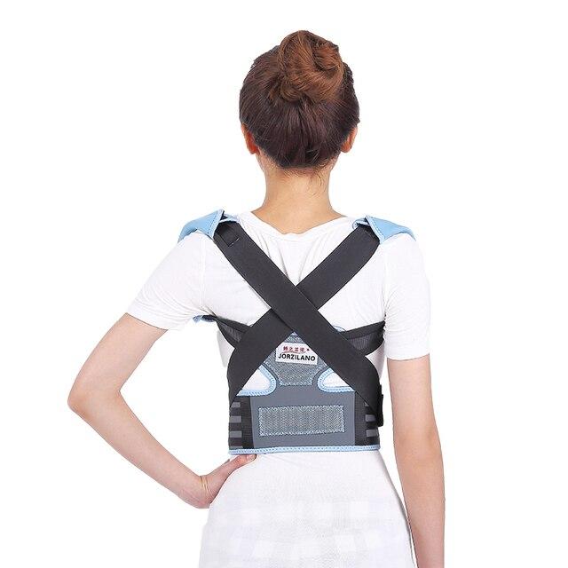 女性調整可能なバックサポートベルト治療姿勢コレクターブレースサポート姿勢ショルダーコレクター用ヘルスケアJZL-060