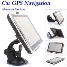 Высокое качество HD 7 дюймов Автомобильный GPS навигация с МТК 800 МГЦ + Windows CE 6.0 + Bluetooth + AV-IN + 128 МБ DDR2 + 4 ГБ навигатор, стайлинга автомобилей