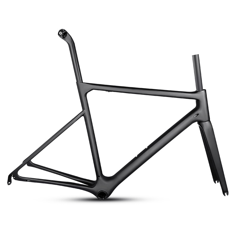 2018 UD Carbon Road Bike Frame Light Weight Racing Bicycle Frameset Seatpost Fork Headset Accept Customized Painted