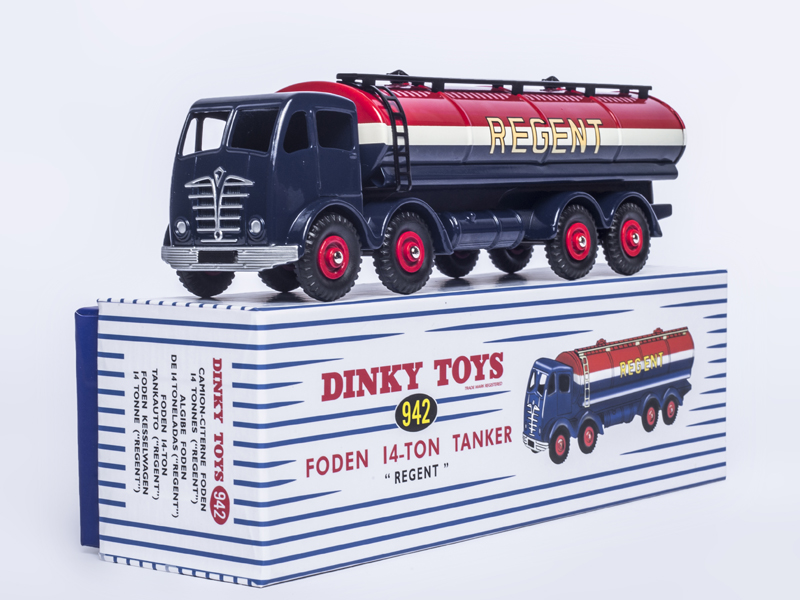 Atlas Dinky Supertoy 942 CAMION-CITERNE FODEN 14 TONNES REGENT 1:43 CAR MODEL For Collection w foden barcarolle
