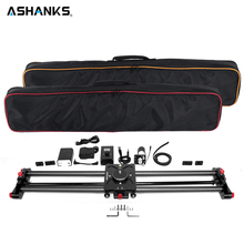 ASHANKS Carbon Camera Slider Follow Focus Motorized Electric Delay Slide Track Rail for Timelapse Photography Apply to 18650