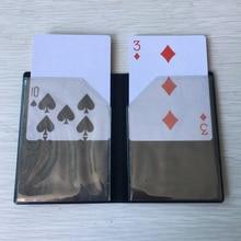 цена Optical Wallet Card Appearing Magic Tricks Wallet Card Magic Easy To do Close Up Magie Gimmick Magic Illusion Mentalism онлайн в 2017 году
