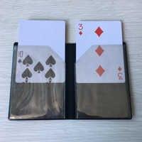 Optische Brieftasche Karte Erscheinen Zaubertricks Brieftasche Karte Magie Einfach Zu tun Close Up Magie Gimmick Magie Illusion Mentalismus