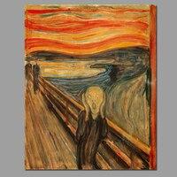 Эдвард Мунк Крик украшения wall art pictures Skrik Экспрессионизма Живопись Холст печати для гостиной unframed