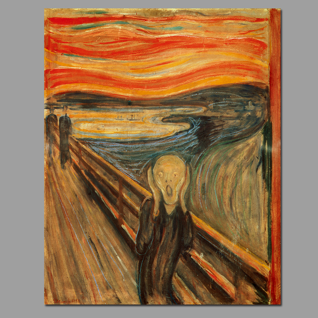 impact of edvard munch s the scream And defines the horrifying moment when man realises his impact for edvard munch's the scream the munch museum opened and edvard munch's the scream.