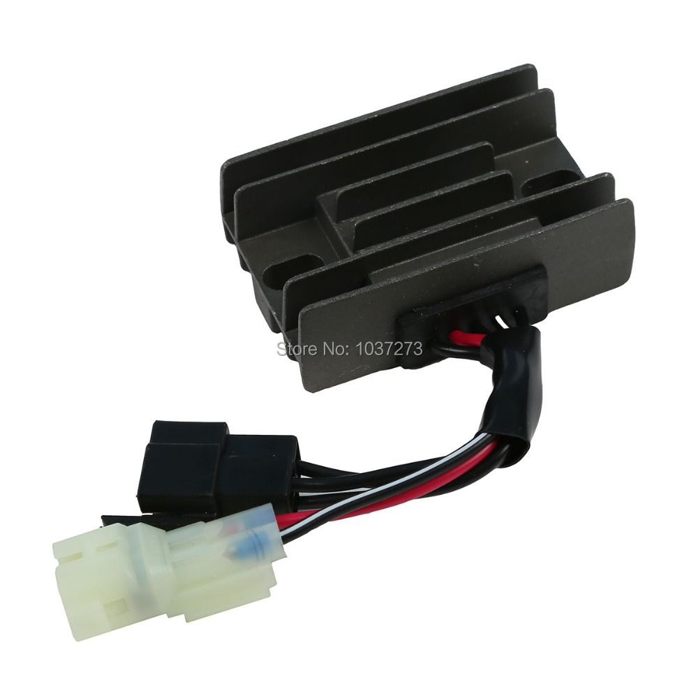 Black Voltage Regulator Rectifier For 2002 SUZUKI LT-F 250F King Quad 4x4 300F black voltage regulator rectifier for hyosung gt650r gt650 comet gv650 gt650s st7 gt 250r gt250 gv 700