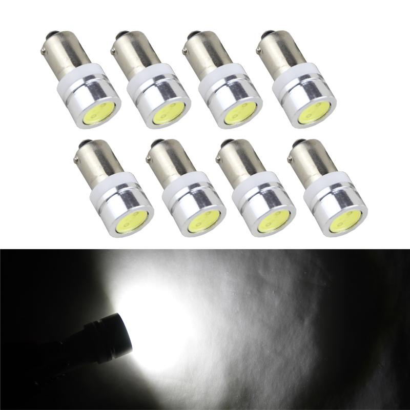 Cob Ba9 Ba9s Single Contact Miniature Bayonet Led Bulb 12v