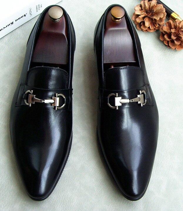 Zapatos Hombre Pic as Punta Pic Cuero Envío Moda Estilo Otoño Nueva As Los De Cómodo Inglaterra Y Vestir Hombres Primavera Gratis wxCIqHRzF