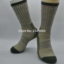 1 Piar Adventure 85% Merino Wool Walking socks hike socks Mens socks