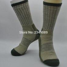 1 Piar Adventure 85% chaussettes de marche en laine mérinos chaussettes de randonnée chaussettes pour hommes