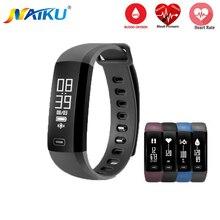 Smart Band naiku M2 heartrate Приборы для измерения артериального давления кислорода оксиметр спортивный браслет часы inteligente Pulso для IOS Android Для мужчин