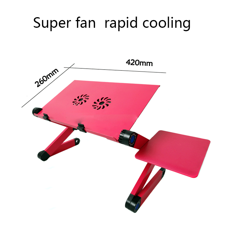 Us 2388 Portable Mobile Laptop Standing Desk For Bed Sofa Laptop Folding Table Notebook Desk With Mouse Pad For Bureau Meuble Office In Laptop