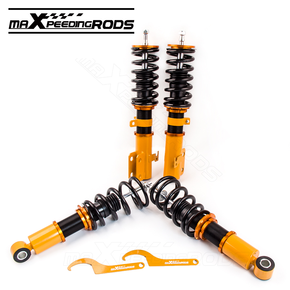 Complete Set Coilover For Toyota Celica 2000 2006 Shock: 4 Pcs Coilover For Toyota Celica 2000 2006 Suspension Coil