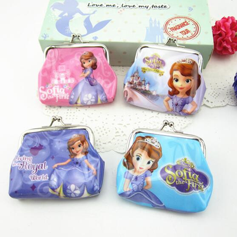 New Sofia/Snow White Princess Coin Purse kids wallet Girls Kids money bag Children Party Gift термокружка sofia