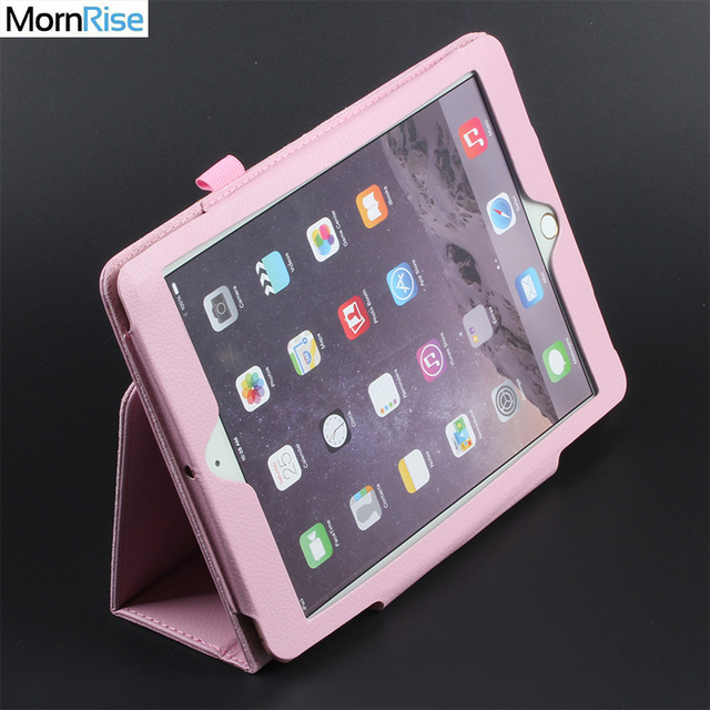 eaf788e007af US $6.99 30% OFF Folding Folio Smart Cover For iPad air 2 1 Case For iPad  6th Generation Cases Magnetic PU Leather Tablet Stand Protective Shell-in  ...