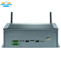 Partaker Q6 Industrial Mini PC Windows 10 Intel Celeron 1037U With 10* COM, COM3 COM6 Support RS485 Function