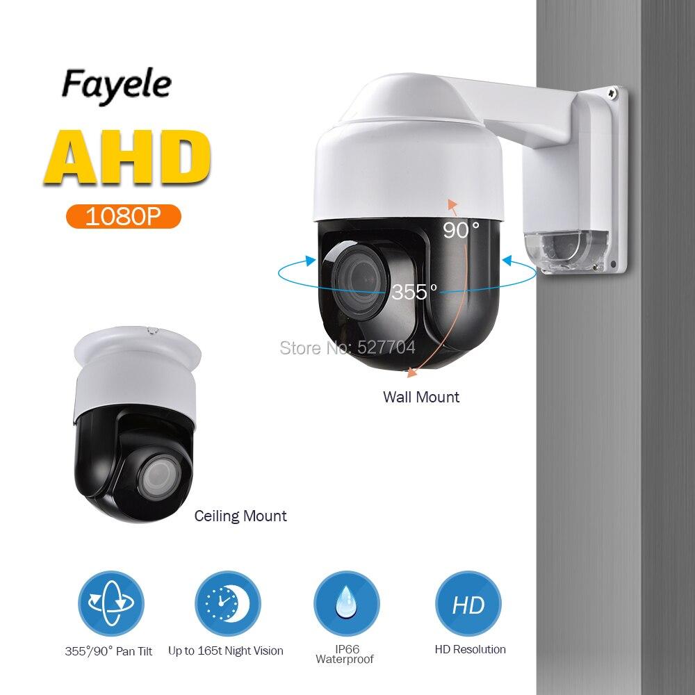 CCTV de Sécurité IP66 AHD 1080 P PTZ Caméra Full HD 2MP 3 Mini Taille 4X ZOOM 2.8-12mm IR Autofocus UTC Coaxial RS485 Contrôle PTZ