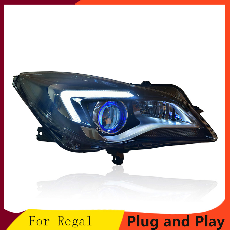 KOWELL Car Styling For Buick Regal 2014 2016 Headlights LED Headlight DRL Lens Double Beam HID