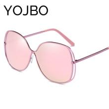 YOJBO Polarized Sunglasses Men Women Mirror Round Glasses 2017 Fashion Luxury Pink Vintage Styles Retro Eyewear Brand Designer