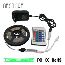 SMD DC 12V 5M RGB LED light strip 3014 LED Strip Non-waterproof  Ribbon tape RGB LED Ribbon