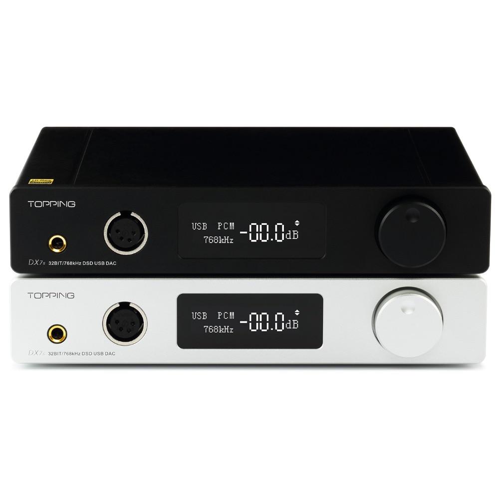 Richt Dx7s 2 Digital-analog-wandler Es9038q2m Xmos Audio Hifi Dac 32bit/768 Karat Dsd512 Volle Ausgewogene Kopfhörer Verstärker Hohe Sicherheit