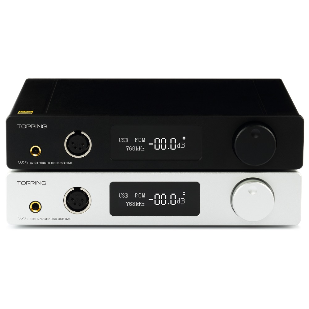 Dsd512 Usb Dac Amp Opa1612 Richt Dx7s Tisch Voll Ausgewogene Decoder Und Kopfhörerverstärker Xmos Xu208 Es9038q2m