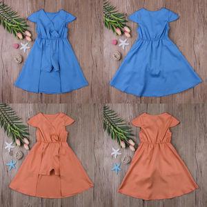 Одежда для малышей Праздничное платье для девочки с цветочным принтом детские нарядные платья; платья подружки невесты, для свадьбы, для дн...