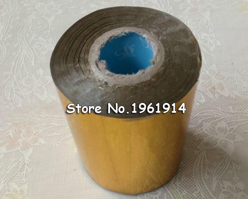 все цены на 1 roll 10cm Hot Stamping Foil Paper Gilded Paper DIY Gold Foil Black Blue Golden Silver pink Laser Transperent Plain Foil
