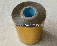 1 Roll 10cm Hot Stamping Foil Paper Gilded Paper DIY Gold Foil Black Blue Golden Silver