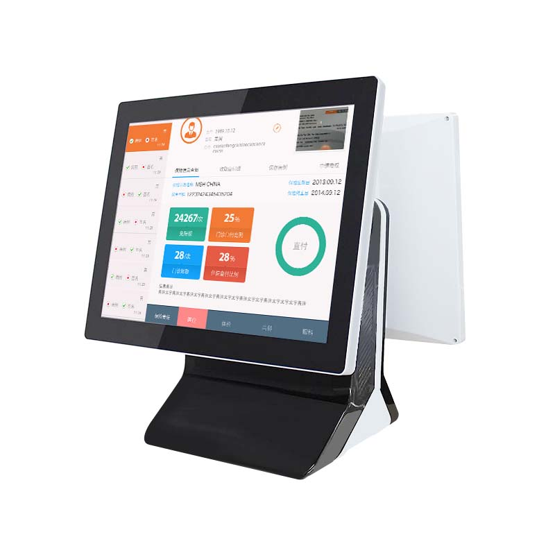 15inch POS Computer System With MSR