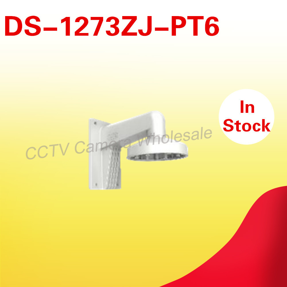 cctv camera accessory wall mount bracket DS-1273ZJ-PT6 for mini PTZ camera DS-2DE3304W-DE cctv bracket ds 1212zj indoor outdoor wall mount bracket suit for bullet camera s bracket ip camera bracket