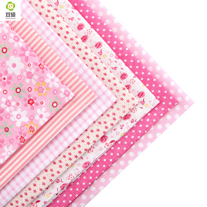 Image 2 - 100% Tissus Cotton Fabric Telas Patchwork  Fabric Fat Quarter 