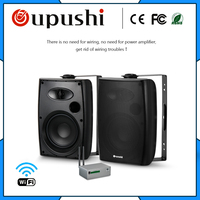 OUPUSHI CL304 20W WIFI bluetooths wall mounted speaker Online Shopping Active Home Theater Speaker System On wall Speaker