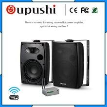 OUPUSHI CL304 20 w WIFI parede falante bluetooths Compras Online Sistema de Home Theater Orador Na parede de alto-Falante Ativo