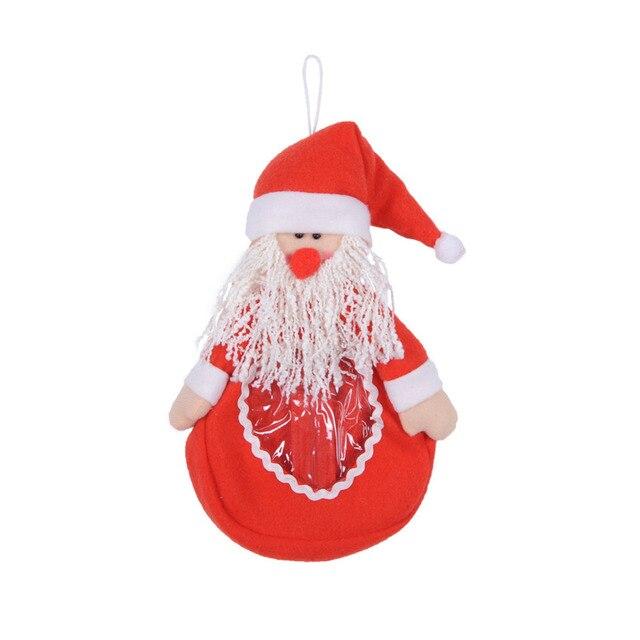 Geschenkkarton Weihnachten.Us 3 82 Weihnachtsmann Süßigkeiten Tasche Handtasche Home Party Dekoration Geschenk Geschenkkarton Weihnachten Santaclaus Dekoration Weihnachten