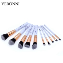 10PCS Makeup Brushes Powder EyeShadow Marbling Synthetic Brush Soft Maquiagem Makeup Brushes Professional Cosmetic Beauty set 15pcs professional makeup brushes bag cosmetic makeup brush brushes set tools foundation powder eyeshadow maquiagem new brand