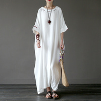 New Spring Party Dresses Women S Robe Pull Femme Hiver Long Wrap Dress Plus Size Retro