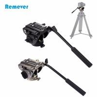 Профессиональный Портативный штатив жидкости голова с Quick Release Plate для DSLR и SLR камеры видеокамеры штатив видео плёнки стрелять