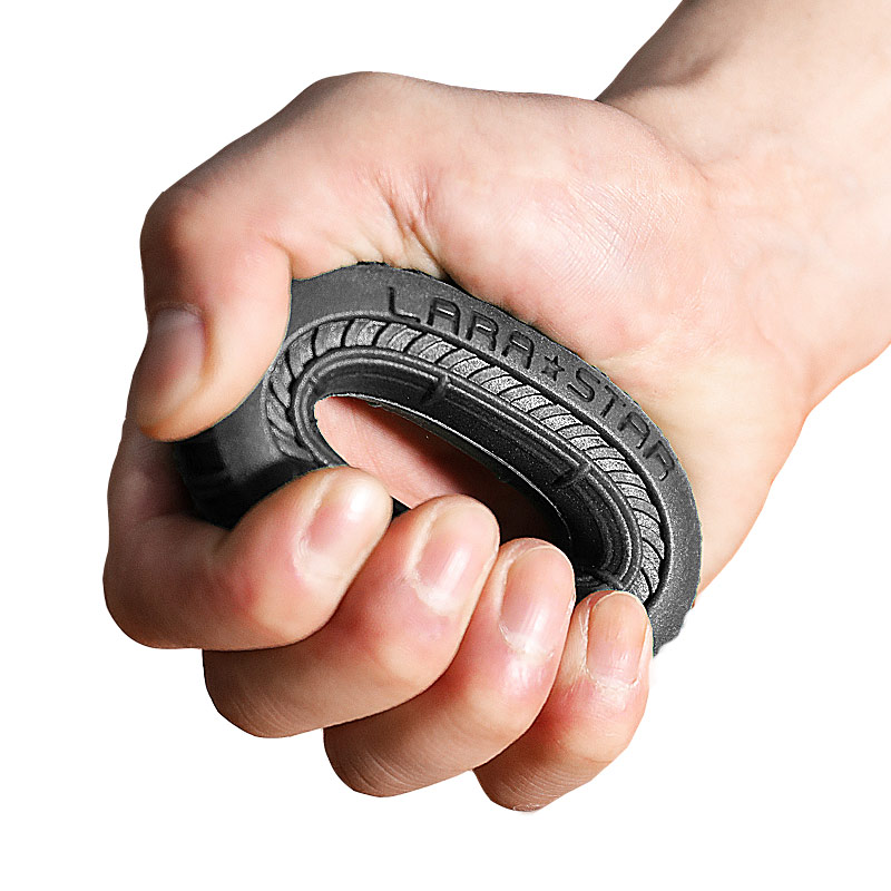 Rubber O Hand Gripper Grip Ring Hand Resistance Band Finger Stretcher Exercise For Forearm Wrist Training Carpal Hand Expander