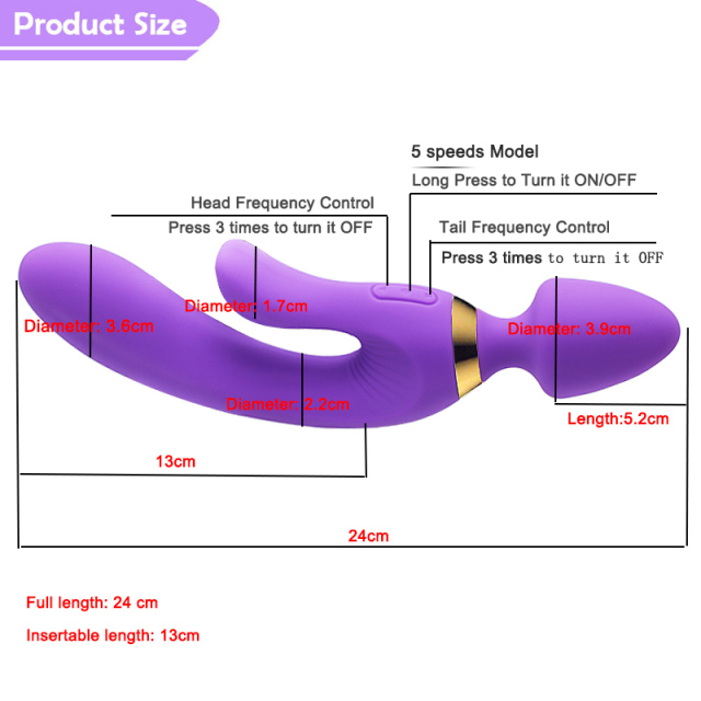 Motor G spot Stimulate Waterproof Sex Toys