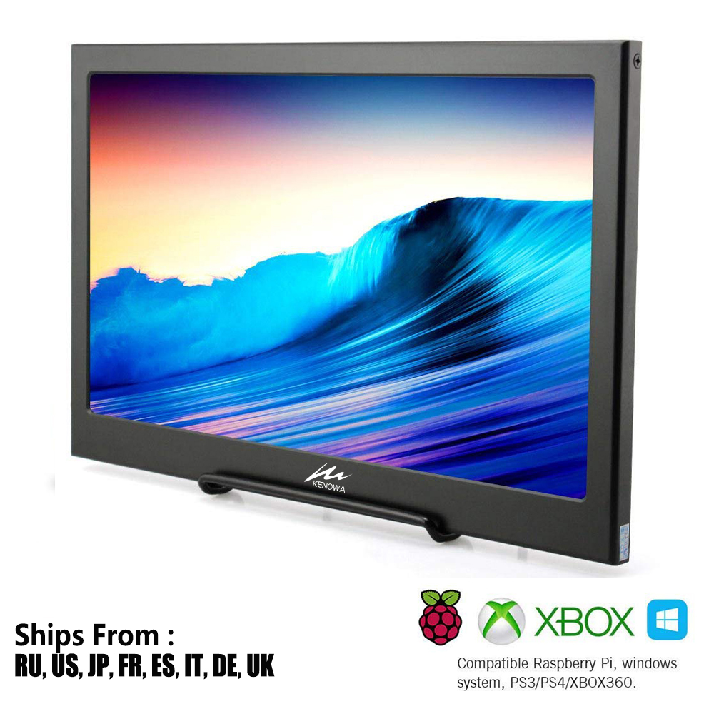 15.6 Inch Super Slim Portable Monitor PC 1920x1080 HDMI PS3 PS4 Xbox360 1080P IPS LCD LED Display Monitor for Raspberry Pi PS3/415.6 Inch Super Slim Portable Monitor PC 1920x1080 HDMI PS3 PS4 Xbox360 1080P IPS LCD LED Display Monitor for Raspberry Pi PS3/4
