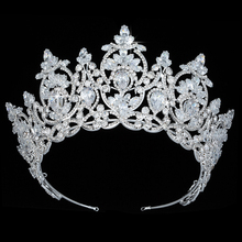 Crown HADIYANA Temperament Vintage Fashion Wedding Hair Accessories Temperamento Nupcial Boda BC4595 Accesorios para el cabello